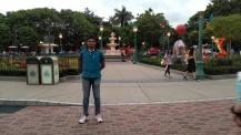 DisneyLand Resort Front Garden