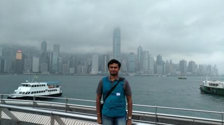 View of Hong Kong Island